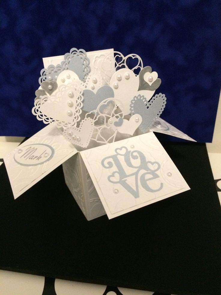 694 best Pop up box cards images on Pinterest | Pop up cards ...