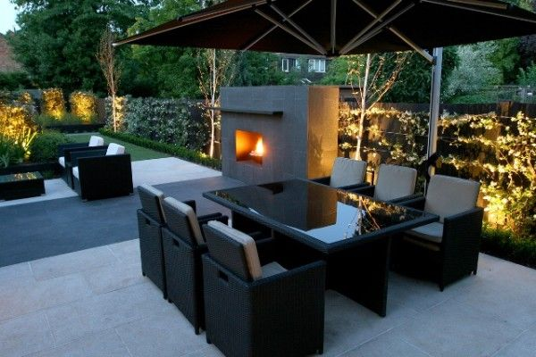 modern garden design - Google Search