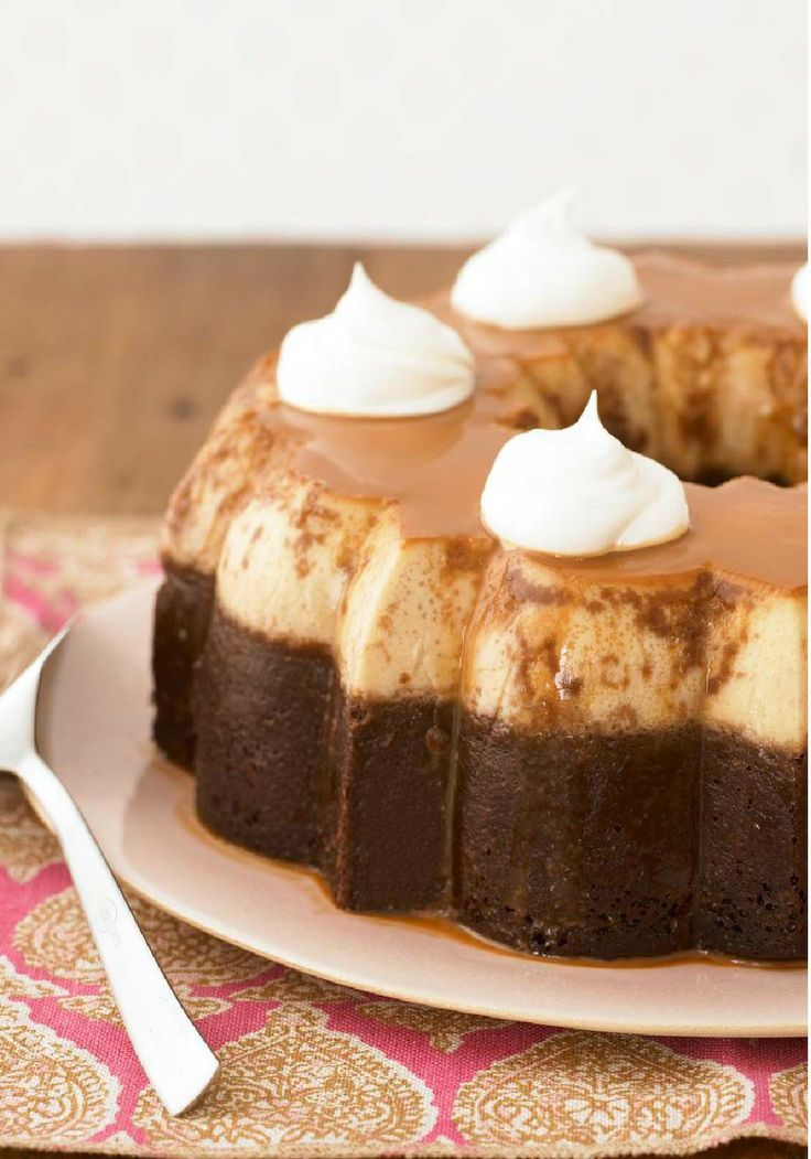 ChocoFlan — This caramel-chocolate flan is one of our favorite recipes and undeniably a classic. Try it today and leave everyone pleased.