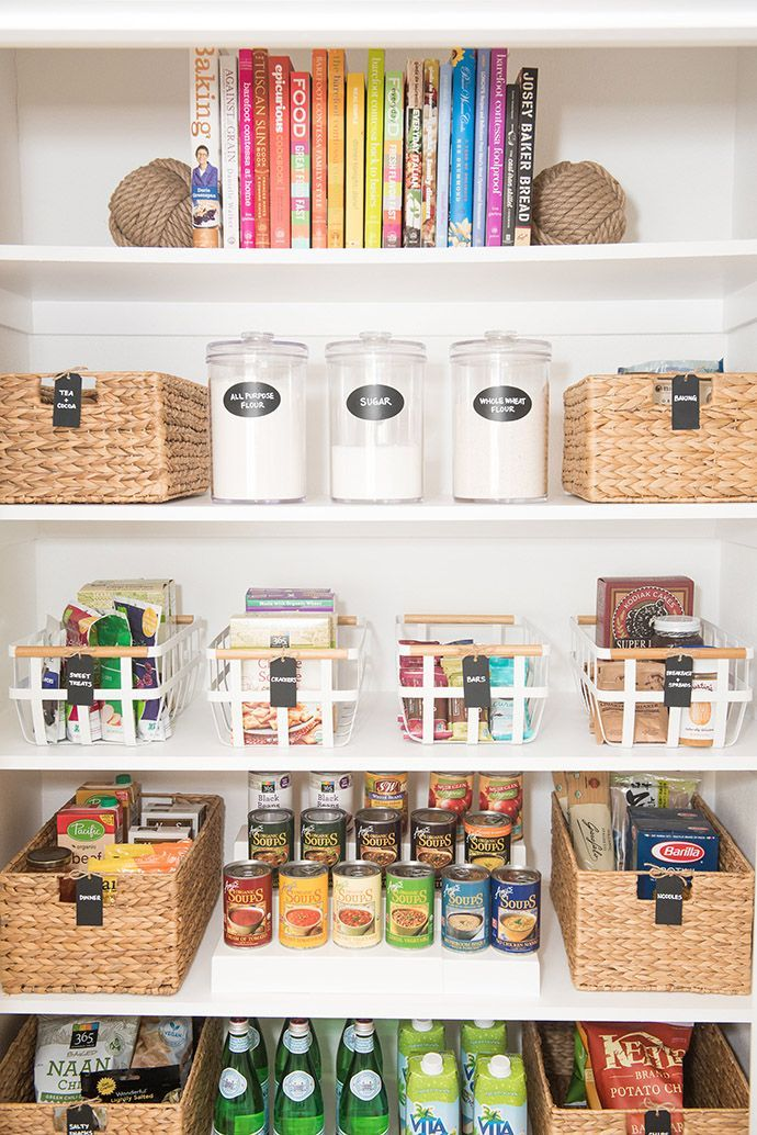 Best 25 organized pantry ideas on pinterest pantry for Kitchen organization ideas