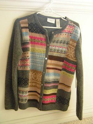 Tea Rose Home: Sweater Felt Project