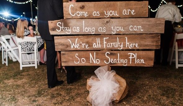 Country Wedding Sign