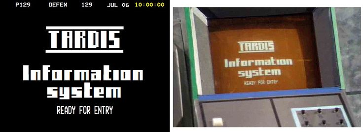 Presumably the original (right) was done with a BBC Micro, recreated by Wayne Dearden (left)