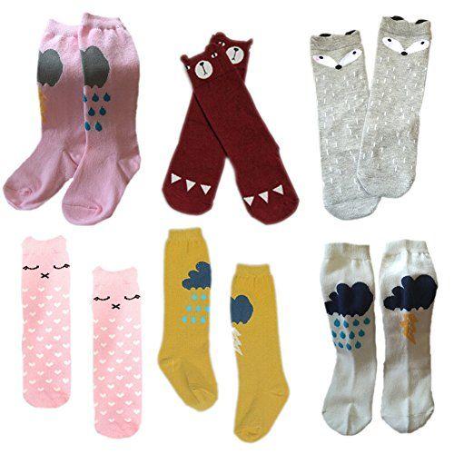 Dooream Unisex Baby Knee High Stockings Tube Socks 6 Pair (M(1-3 Years), 6) Dooream http://www.amazon.com/dp/B013G529F4/ref=cm_sw_r_pi_dp_kUDWvb0VTYHYW