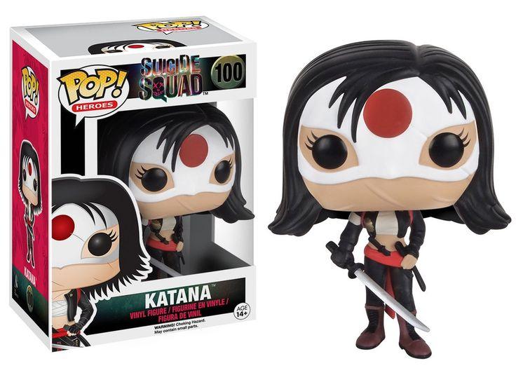 Pop! Heroes: Suicide Squad - Katana