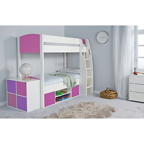 Buy Stompa Uno S Plus Detachable Storage Bunk Bed Online at johnlewis.com