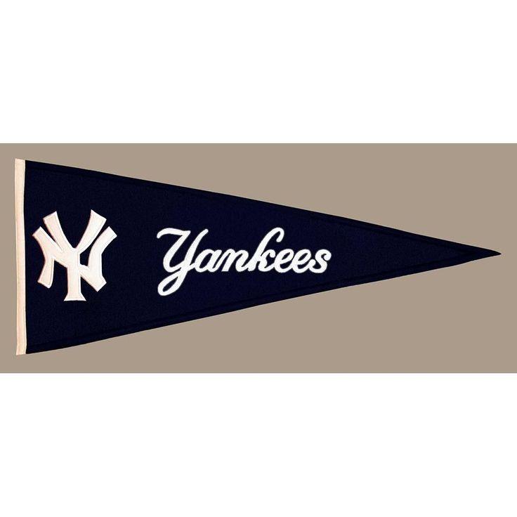"New York Yankees Mlb ""traditions"" Pennant (13""x32"")"