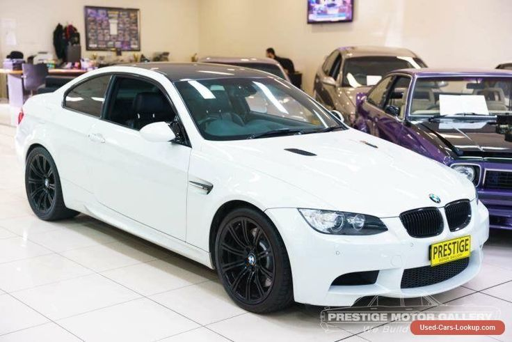 2011 BMW M3 E92 MY10 White Automatic 7sp A Coupe #bmw #m3 #forsale #australia