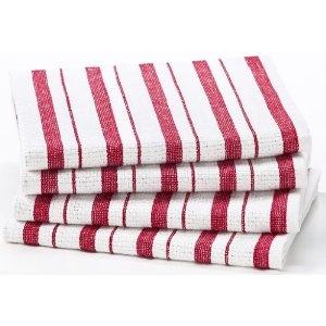 .Custom T Shirts, Kitchens Decor, Kitchens Towels, Red Stripes, Oversized Kitchens, Kitchen Towels, Cotton Crafts, Stripes Pattern, Gemstones Gemlab Co In