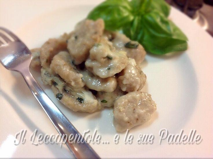 Gnocchi di patate , noci........ gustosissimi!