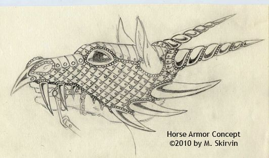 Horse Armor Concept by ~M-Skirvin on deviantART