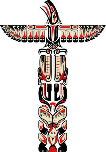 "My novel ""Promise"" leads to an awareness of this. Totem pole design."