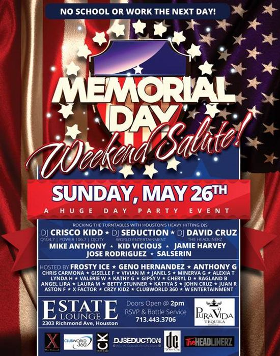 memorial day parade flyer
