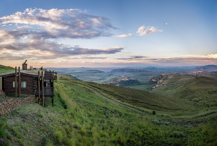 Highlands Mountain Retreat, by Melanie van Zyl.
