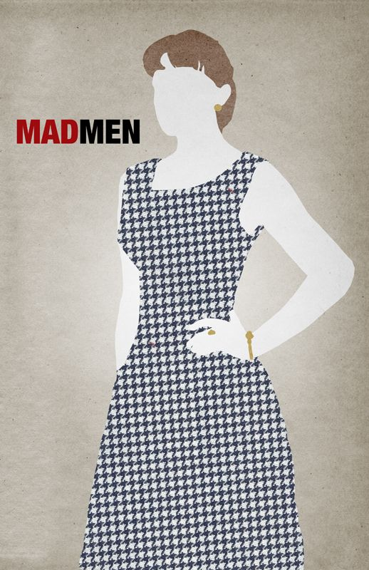 Mad Men - Peggy Olson Poster by The Bear Jedi