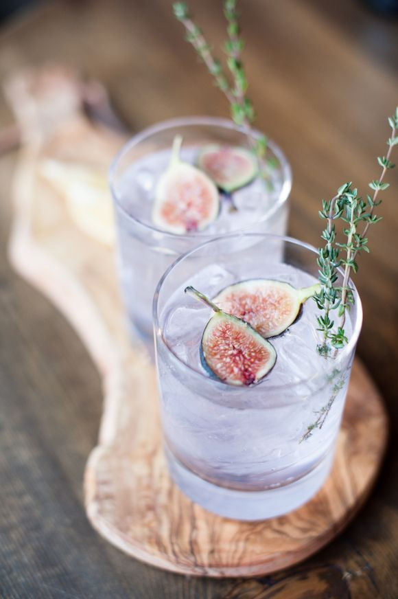 Fancy Fig Cocktail #booze #cocktail #fig