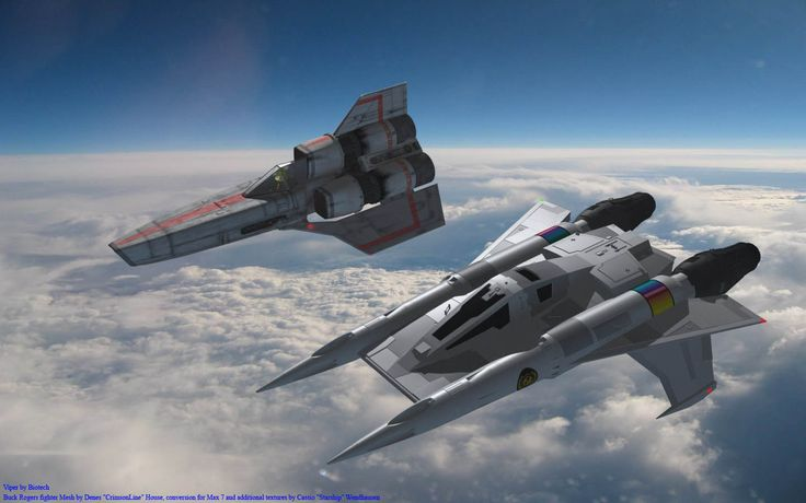 Earth Defense Force Star Fury/Thunder Fighter and Colonial Mark 1 Viper