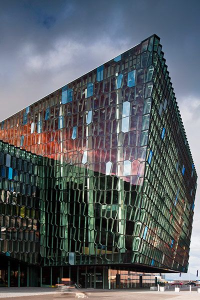 Harpa Concert Hall, Reykjavik by Henning Larsen Architects