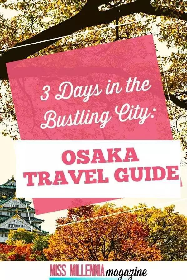 3 Days in the Bustling City: Osaka Travel Guide