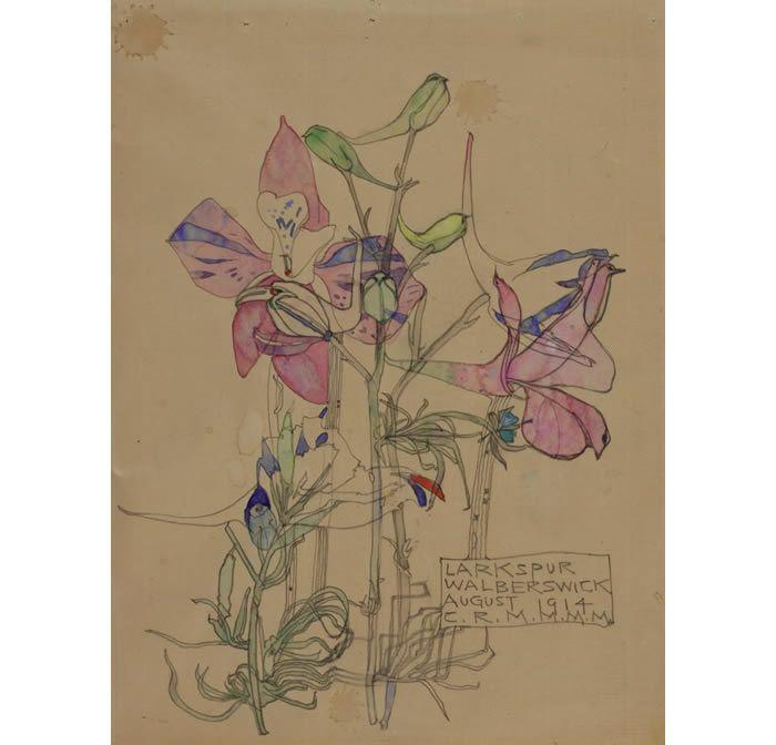 1000 images about floral designs mackintosh on pinterest. Black Bedroom Furniture Sets. Home Design Ideas
