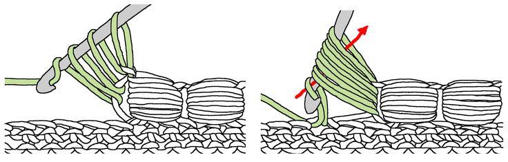 offset-puff stitch
