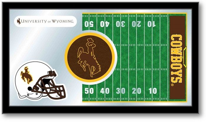 Wyoming Cowboys Football Team Sports Mirror at SportsFansPlus.com. Visit website for details!