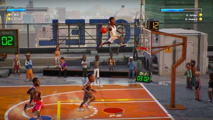 NBA Playgrounds Official Gameplay Trailer The arcade basketball game features a progression system tournaments online and more. April 12 2017 at 04:41PM  https://www.youtube.com/user/ScottDogGaming