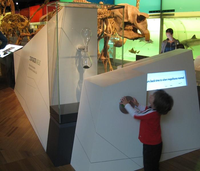 Melbourne Museum: Dinosaur Walk