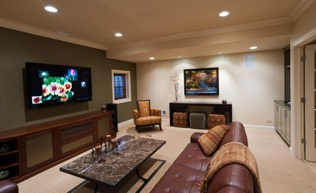 Basement Rec Room Ideas Susan Bertram Designs Winnetka