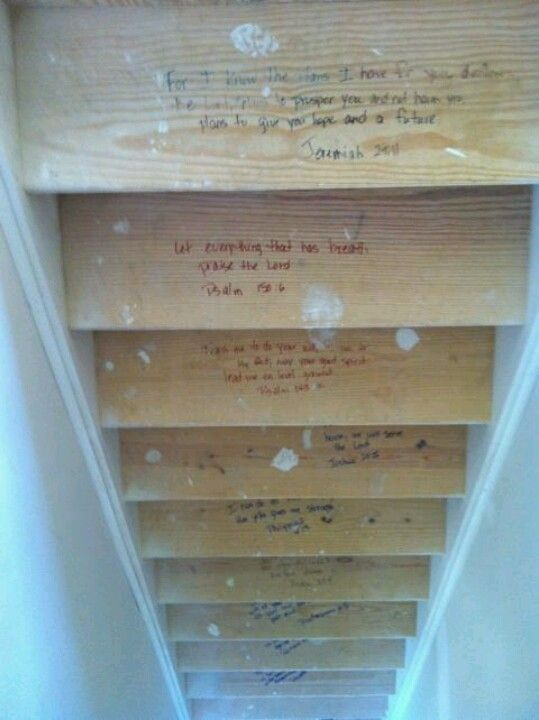 23 best images about new home bible scripture on pinterest for First step of building a house