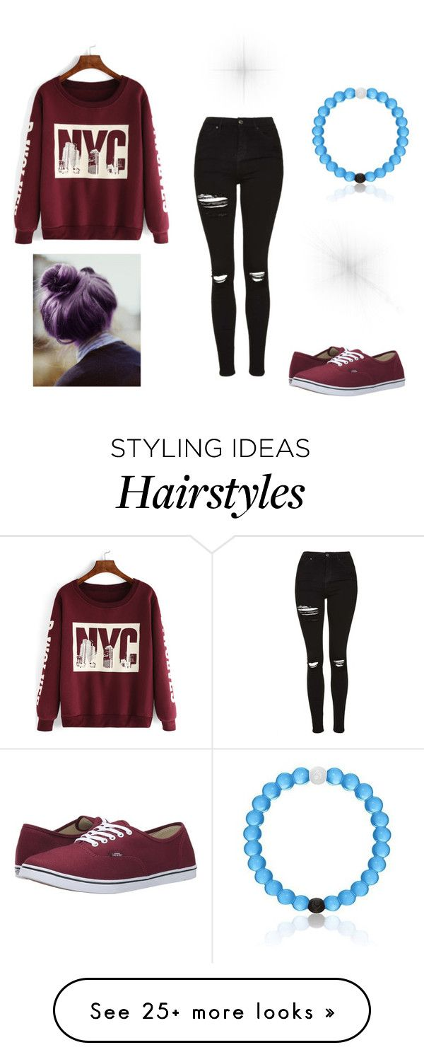 """Casual Day"" by rebelkatnisseverdeen on Polyvore featuring Topshop and Vans"