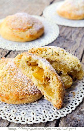 Biscotti cuor di mela e pinoli ricetta facile vickyart arte in cucina