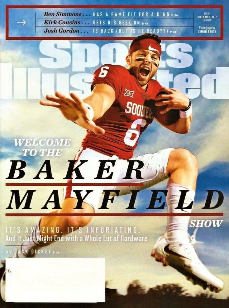 Baker mayfield oklahoma sooners college football sports