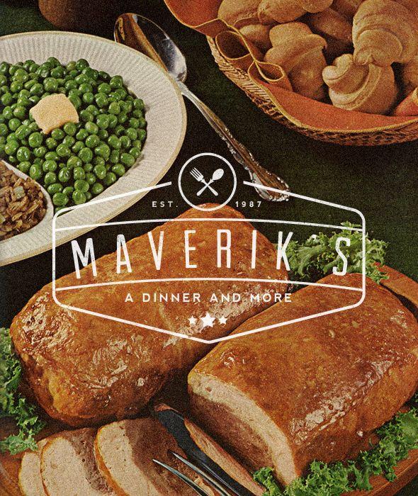 "Maverik's - ""Vintage Dinning Restaurant Label/Badge"" Buy from - http://graphicriver.net/item/premium-quality-8-vintage-labels-col-n4/6361247?WT.ac=portfolio&WT.seg_1=portfolio&WT.z_author=SAOStudio"