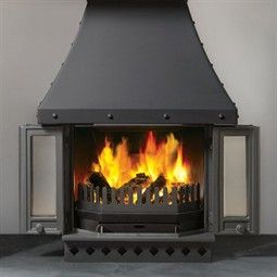 Dovre 1800 Multi-Fuel Fireplace Stove