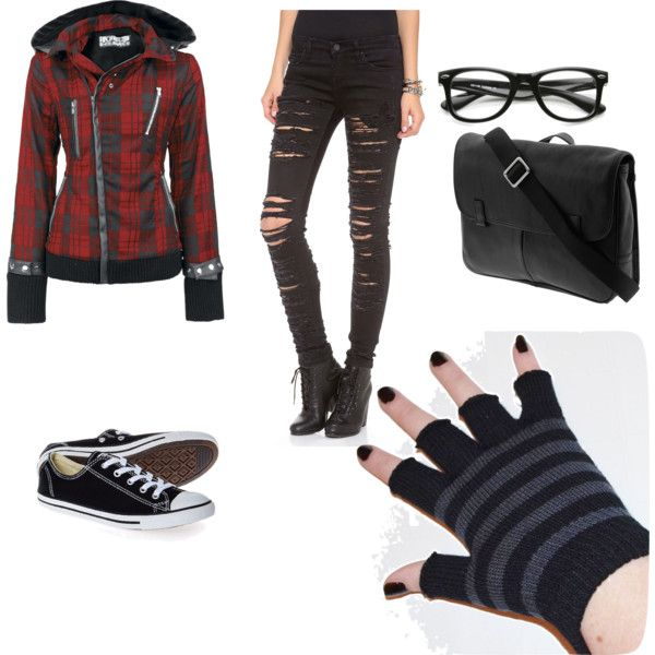 Goth Outfits Polyvore