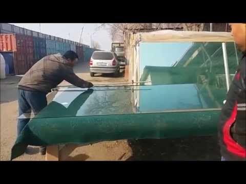 Быстрый способ для резки стекла / A quick way to cut glass