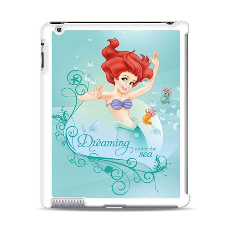 ARIEL LITTLE MERMAID 1 DISNEY iPad Case