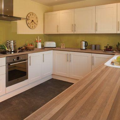 4.1m Axiom by Formica Walnut Microplank Matte58 Laminate Kitchen Worktop