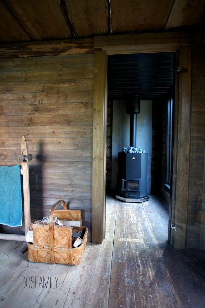 Superb Sauna, Sweden Sauna, Black Sauna, Härbre, Isabelle Mcallister, Dosfamily,  Cottage