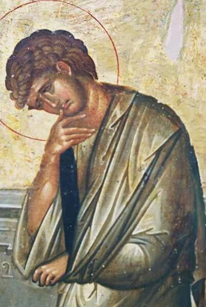 Crucifixion detail-St. John