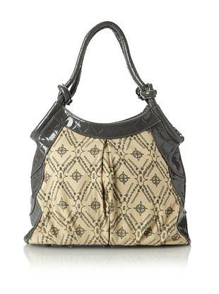 65% OFF amykathryn Women's Tulip Shoulder Bag, Grey