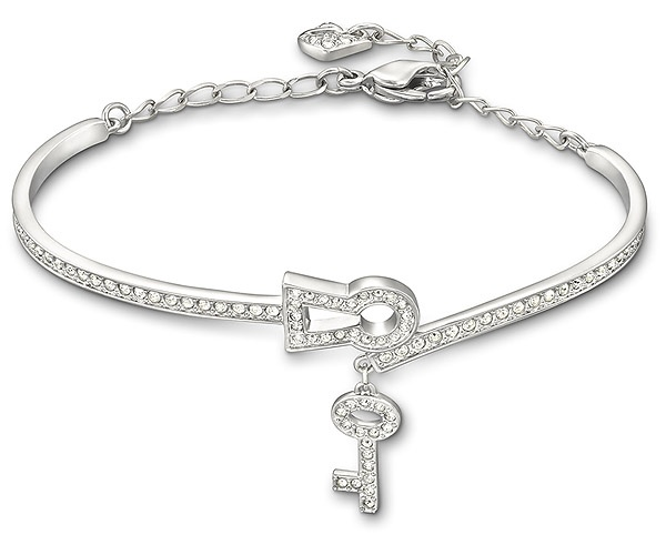 Timeless accessory Swarovski Key Bangle