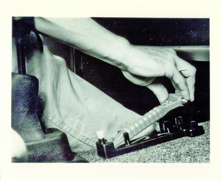 In 1983 the first safety hammer was developed by Helmut Lechner after he found himself trapped in his car after a car accident. #lifehammer #safetyhammer