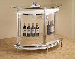 White Bar Table Item #101066