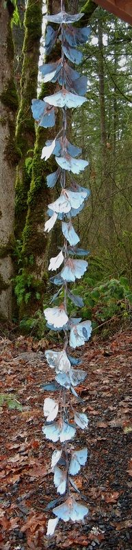 Rain Chains - Cowdawg Creations -Copper Garden Art