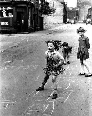 I nostri giochi in strada.