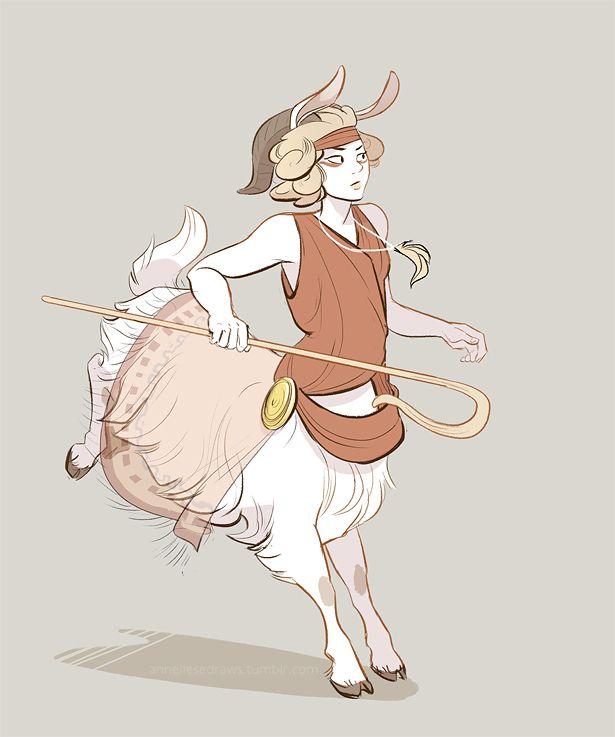 sheep taur by scrii.deviantart.com on @DeviantArt