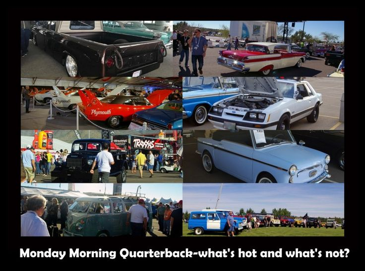 MSCC looks at what's hot and what's not after the TV car auctions. Here's the link: http://mystarcollectorcar.com/monday-morning-quarterback-what-was-hot-and-what-was-not-at-barrett-jackson/