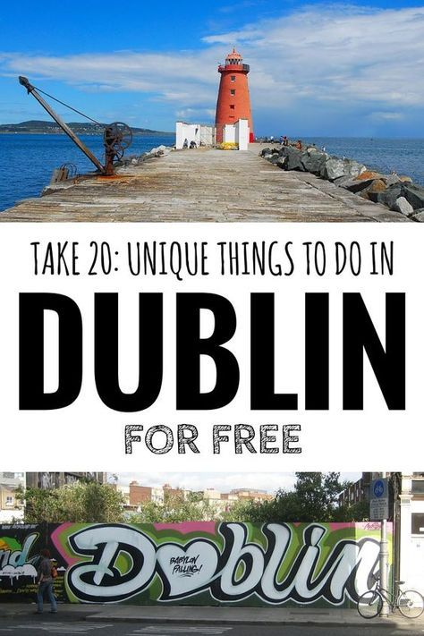 20 únicas cosas a hacer en Dublín para libre